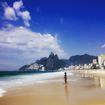 Picturesque Ipanema Beach