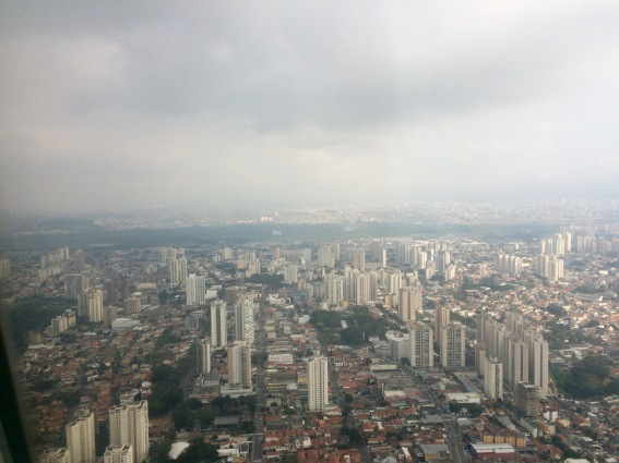 This is what Sao Paulo look slike from the air